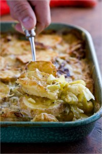 march recipes potato gratin