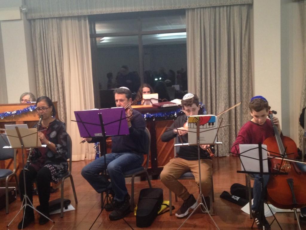 Hanukkah Simcha Band  2016 2