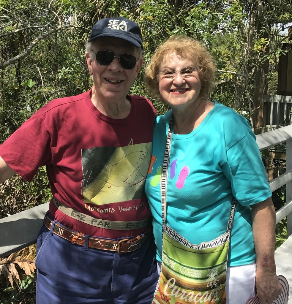 Natalie and Bruce Baff