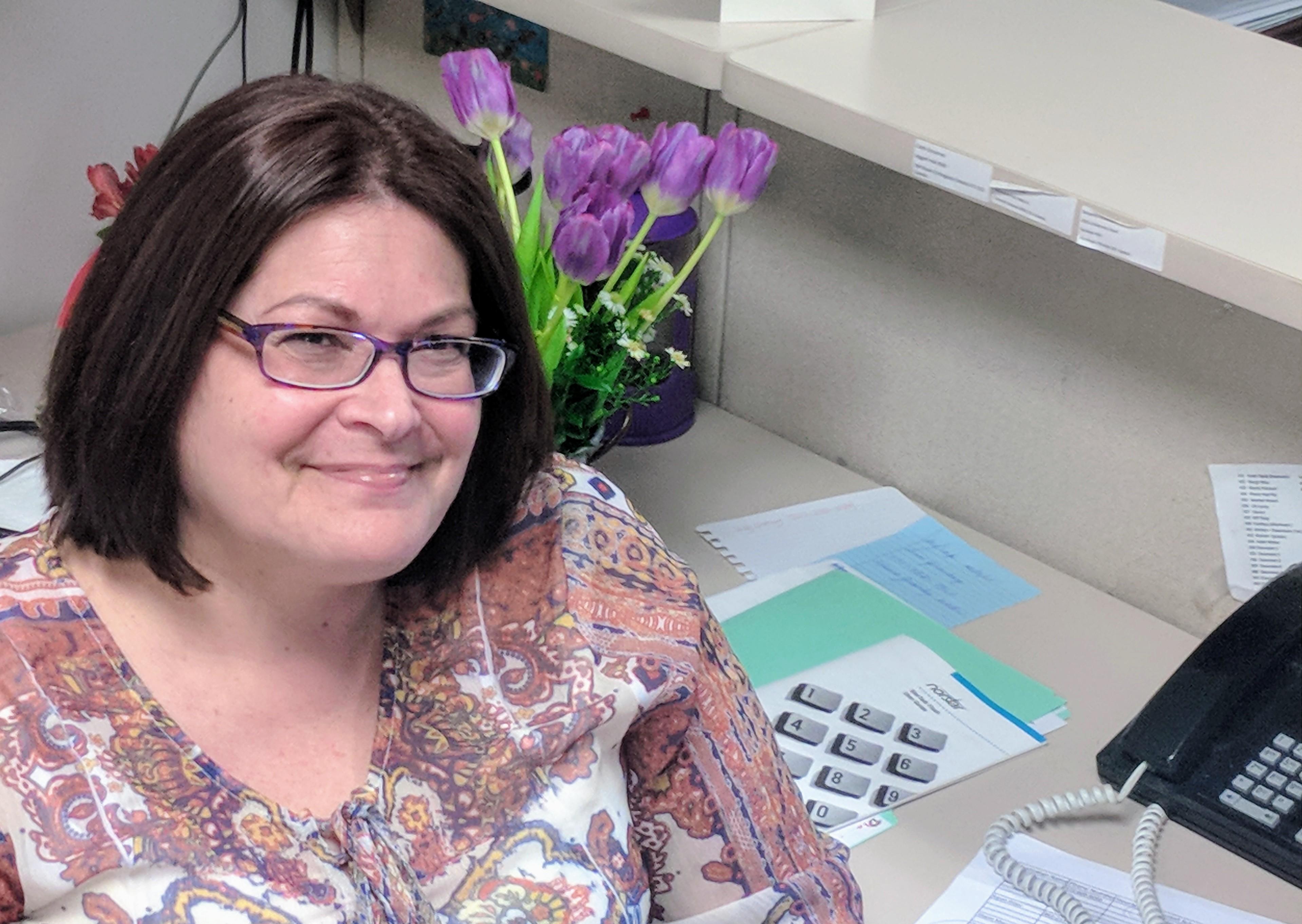 New Shomrei Office Administrator, Lisa Zelenetz
