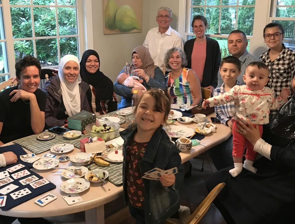 Refugee visit 1