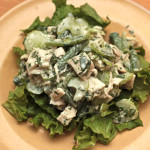 chicken-salad-with-tahini-dressing