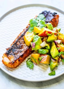 Grilled-Salmon-Peach-