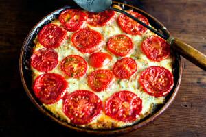 tomato squash gratin