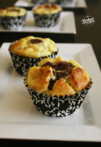 March 11 cheesecake brownie cupcakes