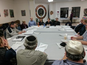 Fern at board meeting