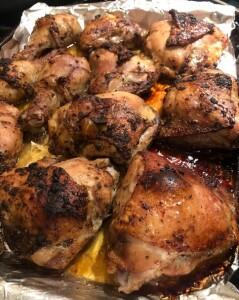 Chicken - spice rubbed roast chicken