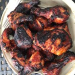 Chicken - barbecue with pantry sauce